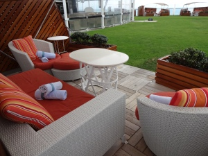 Lawn Club on Celebrity Silhouette bu Susan McDaniel Travel